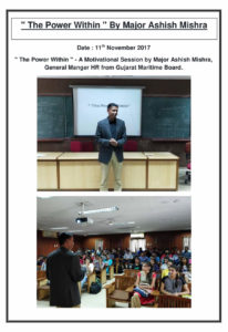 The Power Within By Major Ashish Mishra